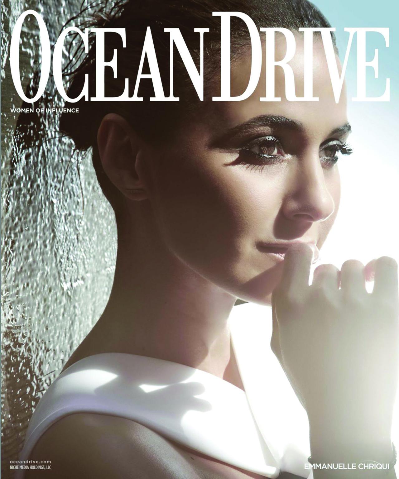 Emmanuelle Chriqui Ocean Drive