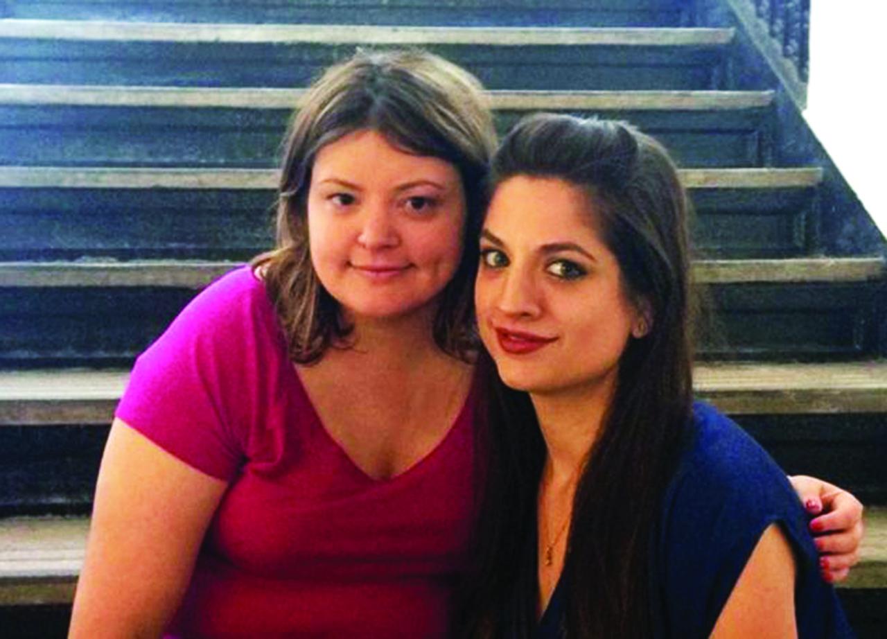 Lizzie et Katy : soeurs