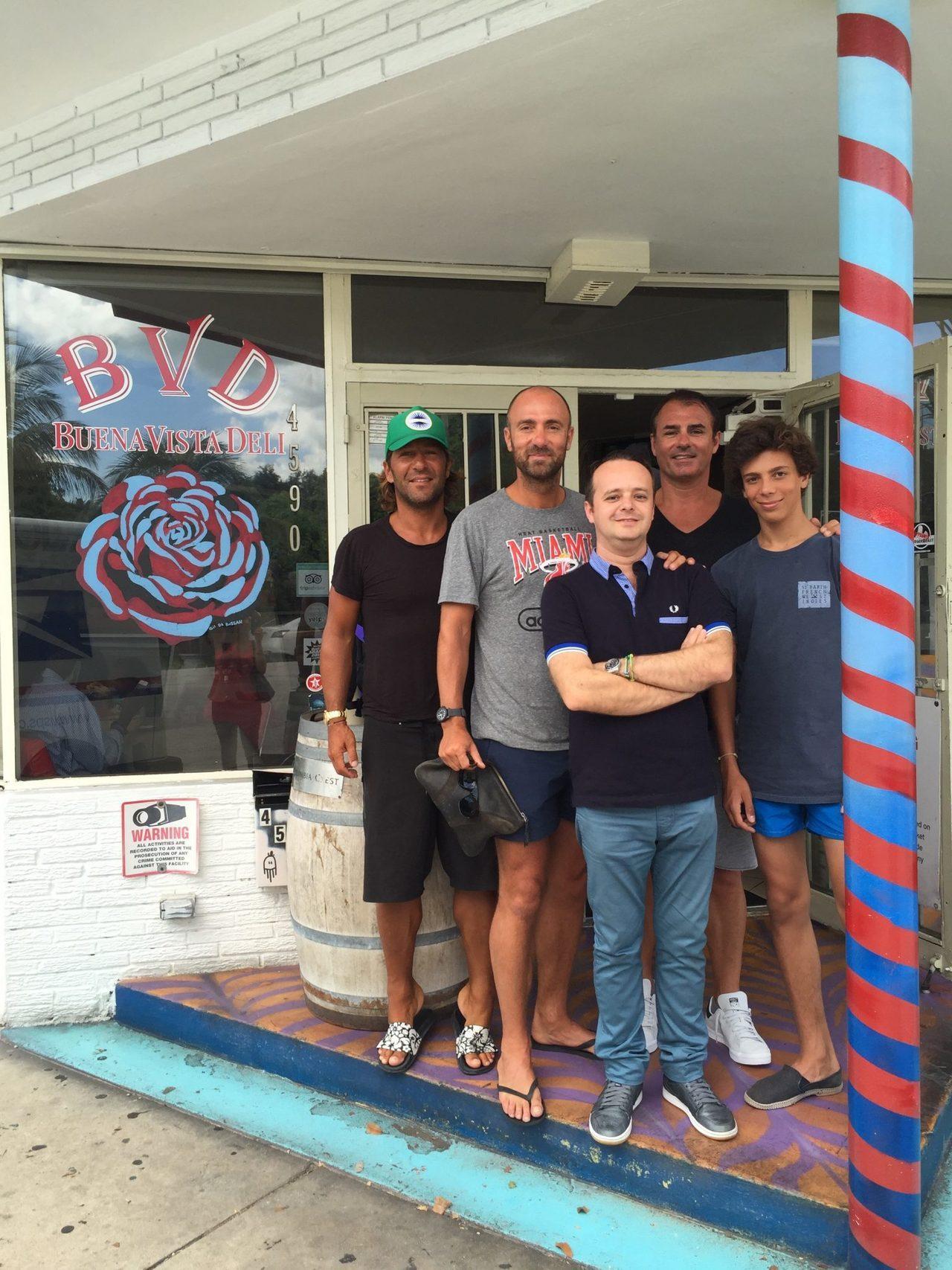 Christophe Dugarry au Buena Vista Bistro de Miami