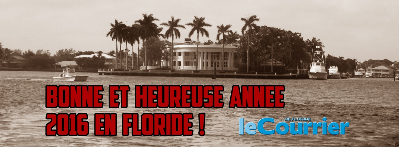 Bonne année en Floride