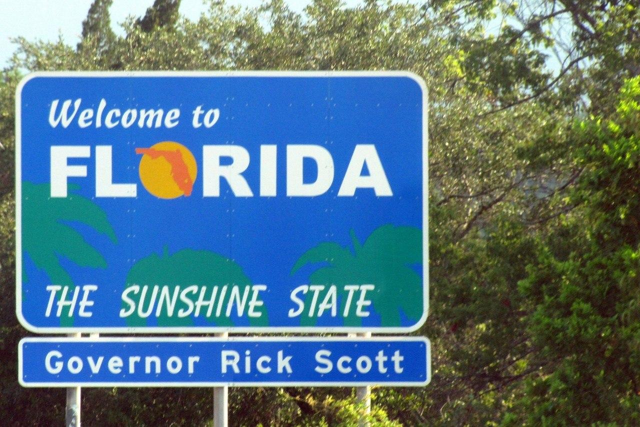 Welcome to Florida (photo : Paul Hamilton CC BY-SA 2.0)
