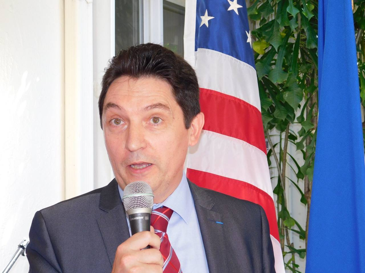 Le sénateur Olivier Cadic à Miami