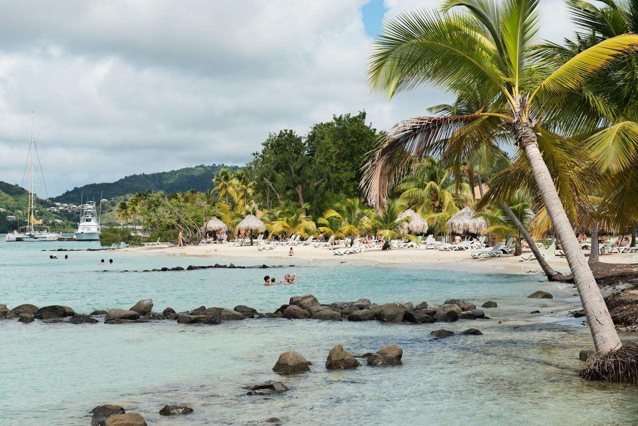 Club Med les Boucaniers, Pointe Marin, Sainte Anne, Martinique (crédit photo : Comité Martiniquais du Tourisme)