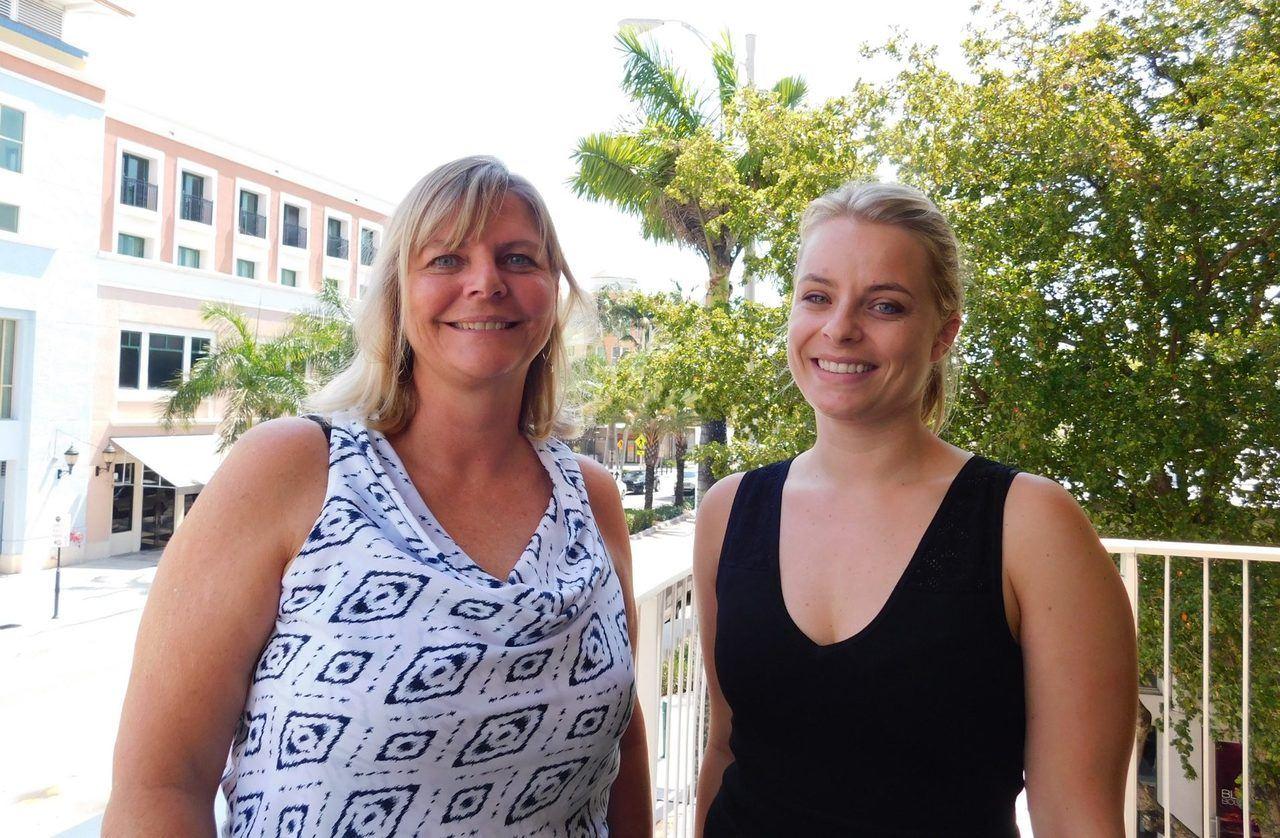 Nathalie Ponak directrice d'Acadomia-Florida, et Elodie Gallissot coordinatrice des programmes