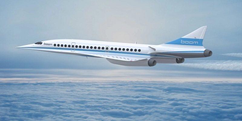 Boom : le futur avion supersonique transatlantique, sur les traces de Concorde