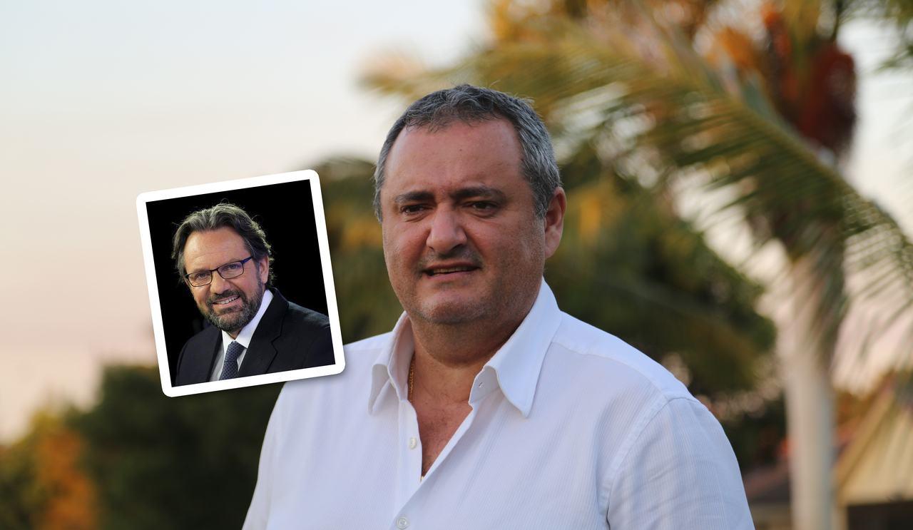 Franck Bondrille et Frédéric Lefebvre