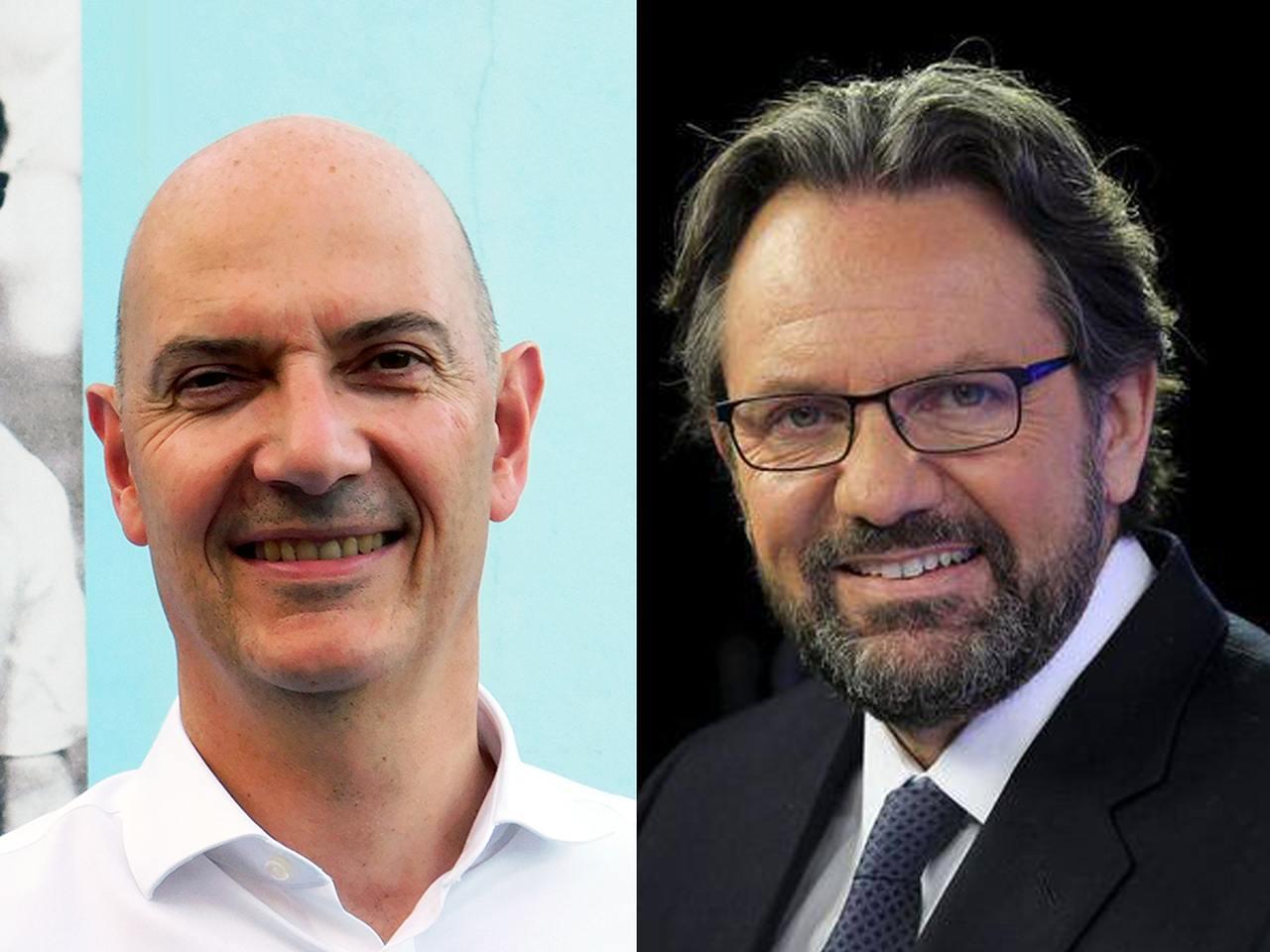 Roland Lescure et Frédéric Lefebvre