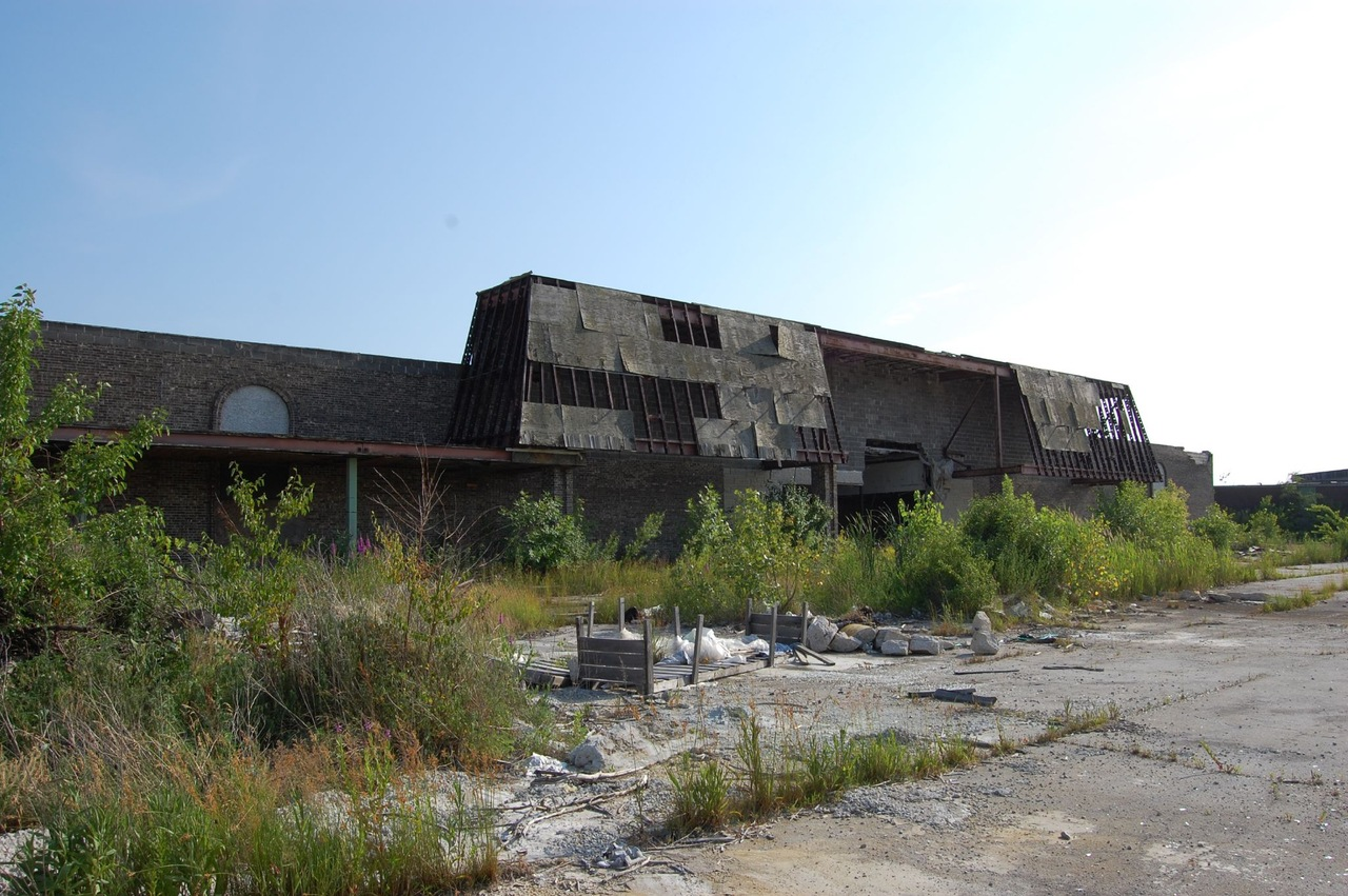 Ruine du Dixie Square Mall, dans l'Illinois