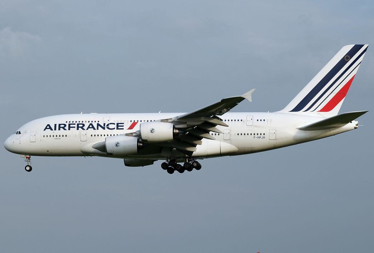 Un Airbus d'Air France
