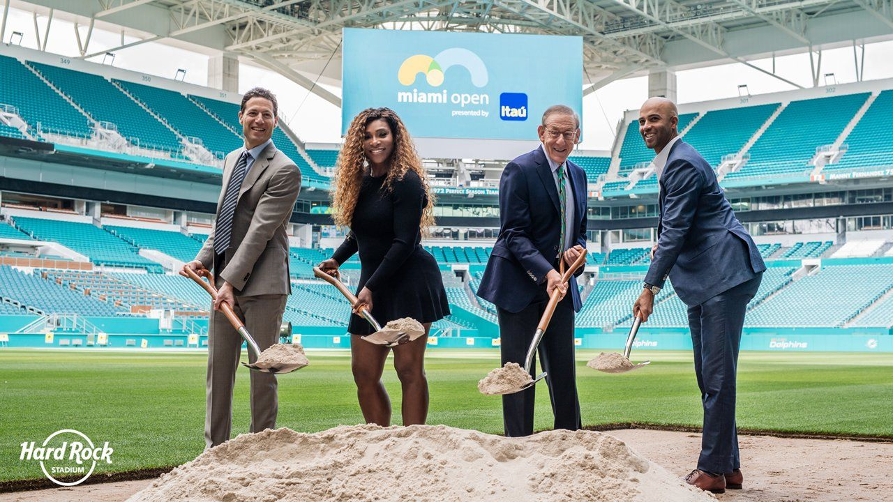 Le Miami Open de tennis transféré au Hard Rock Stadium