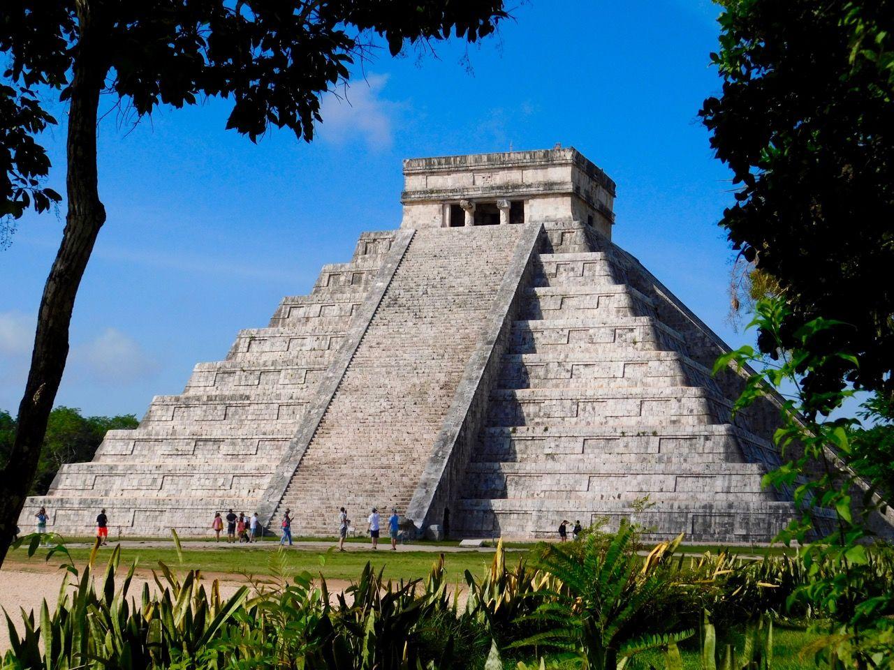 la pyramide de Chichen Itza