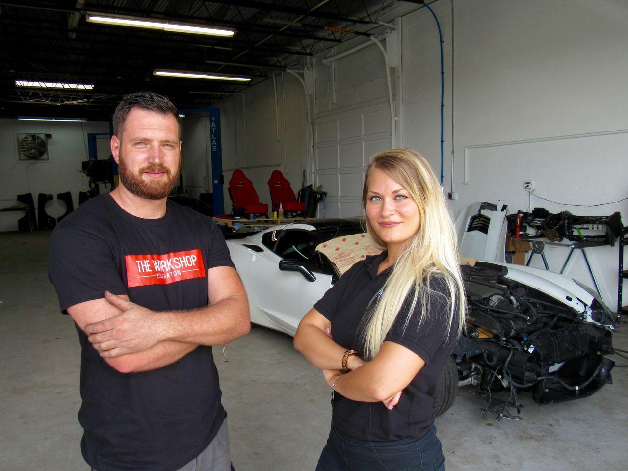 Garage automobile et moto : atelier de peinture et carrossier francophone à Boca Raton en Floride : The Workshop