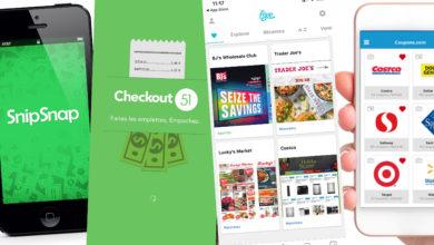 Les apps pour les coupons de supermarchés aux Etats-Unis : économies, rabais, aubaines, réductions... faites vos courses, magasinage et shopping avec intelligence aux USA, pour l'épicerie comme pour le reste !