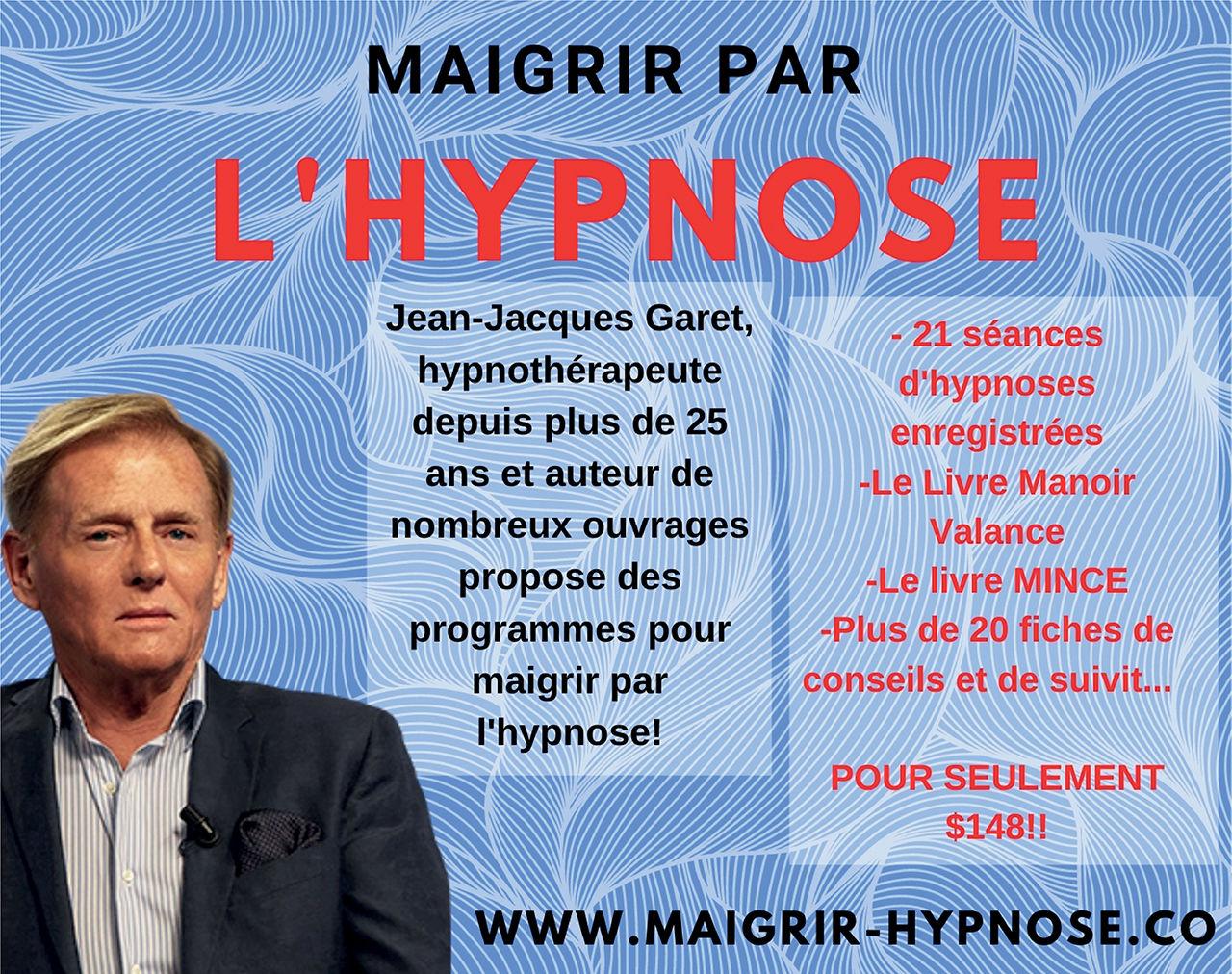 Maigrir par l'hypnose, Jean-Jacques Garet