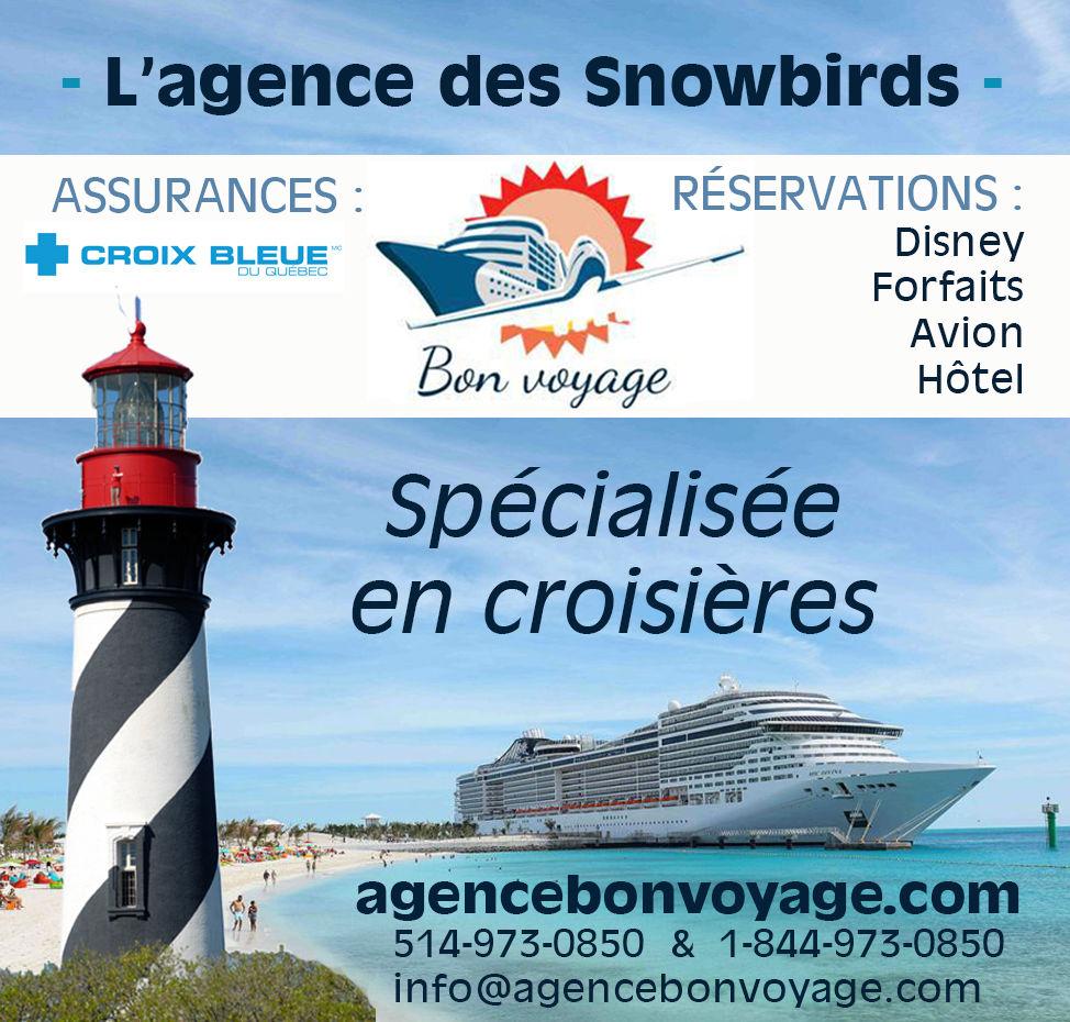 Agence de Voyage Bon Voyage / Croix Bleue du Québec, assurances Etats-Unis