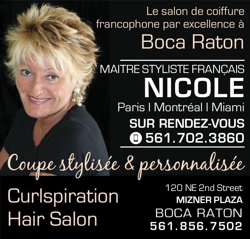 Nicole Pietri / Coiffeuse / Boca Raton