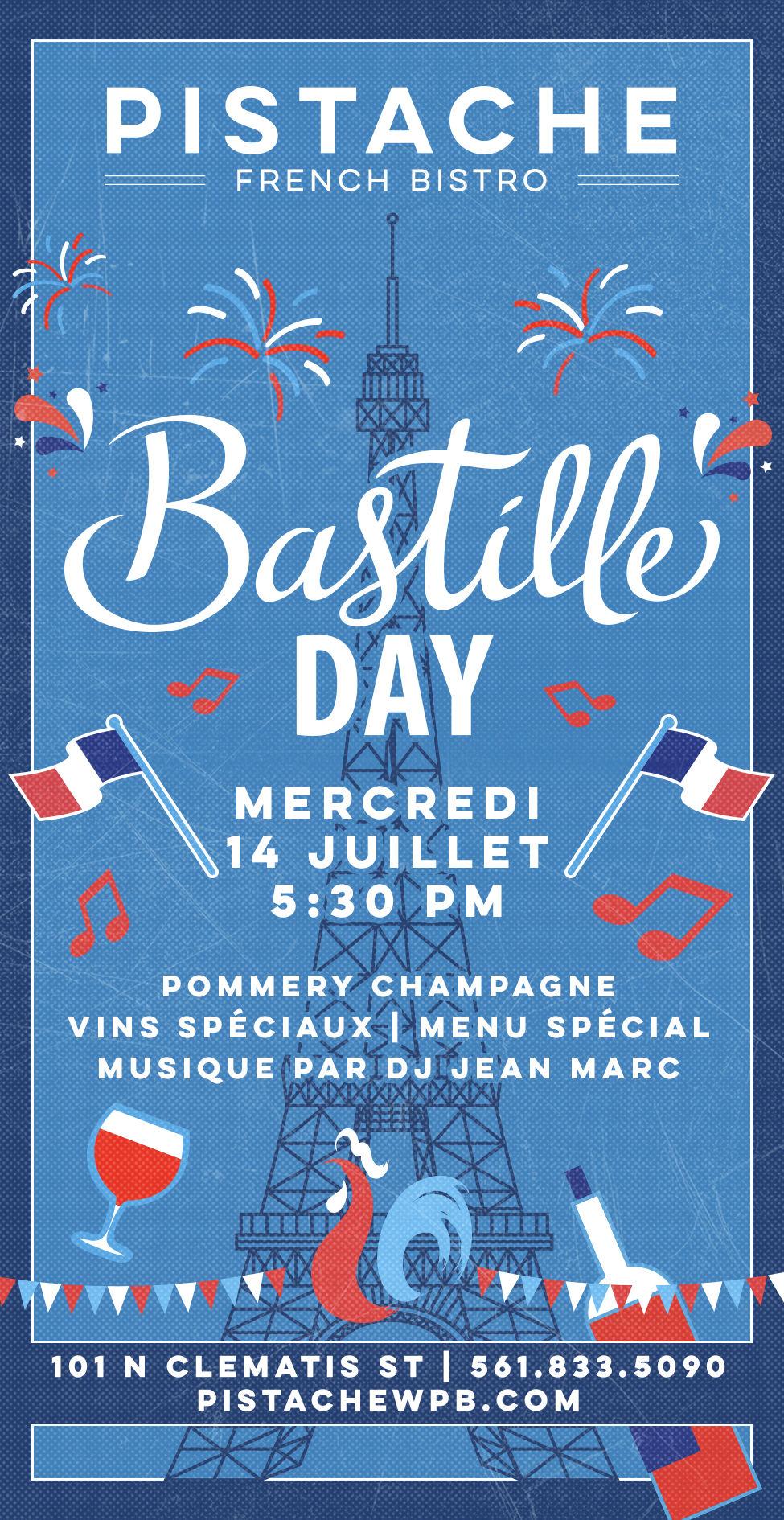 14 juillet : venez fêter Bastille Day en Floride !