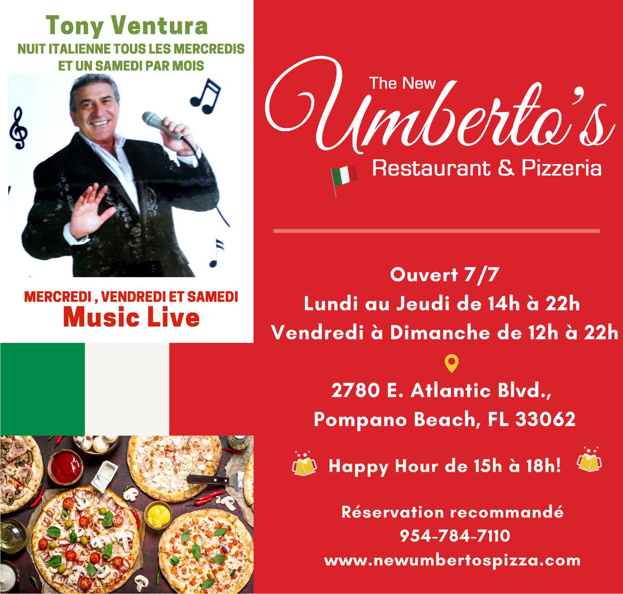Pizzeria et restaurant à Pompano Beach : Umberto's